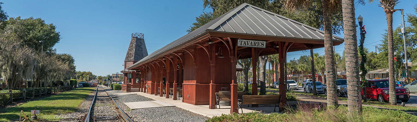 train station in Tavares